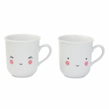 Thirs-tea Fun Mugs - Set of 2