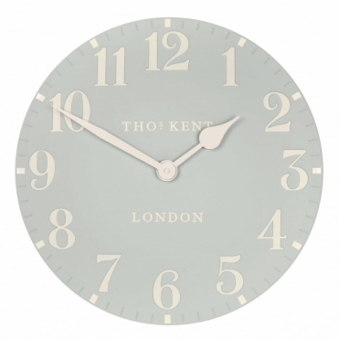 Arabic Large 20 inch Wall Clock Duck Egg