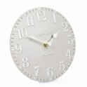 Thomas Kent Clocks Arabic Mantel Clock Dove Grey
