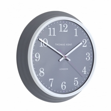 Breton Wall Clock - Charcoal