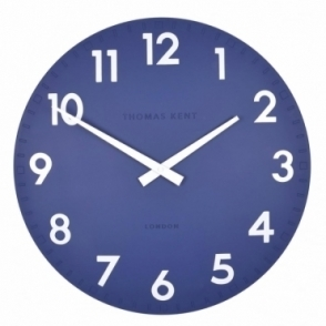 Camden Large 20 inch Wall Clock Indigo