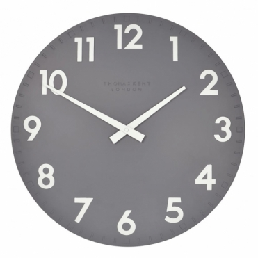 Camden Large 20 inch Wall Clock Slate