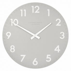 Camden Large 20 inch Wall Clock Smoke
