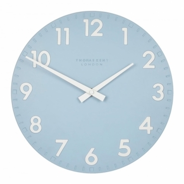 Camden Small 12 inch Wall Clock Sea Blue