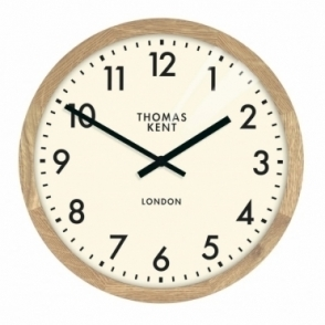 Clifton Small 12 inch Wood Wall Clock