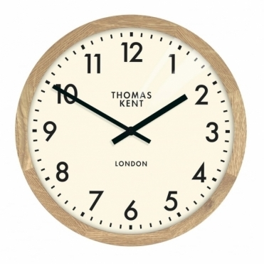 Clifton Small Wood Wall Clock