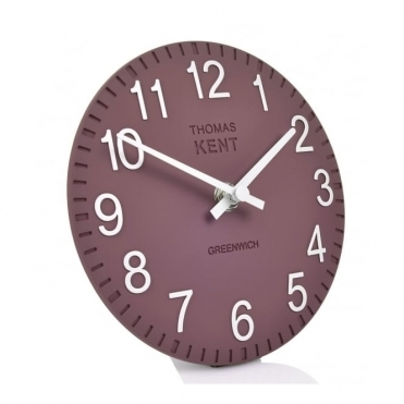 Cotswold Mantel Clock - Plum