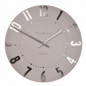 "Mulberry 12"" Wall Clock - Blush Pink"