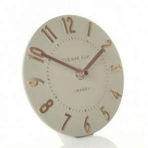 Mulberry Mantel Clock - Rose Gold