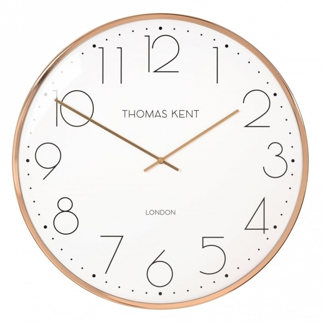 Thomas Kent Clocks Oyster Copper Wall Clock
