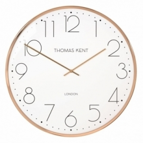 Oyster Copper Wall Clock