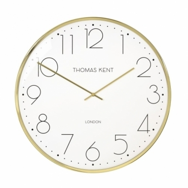 Oyster Gold Wall Clock