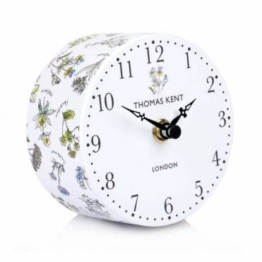 Portobello Wild Flowers Mantel Clock