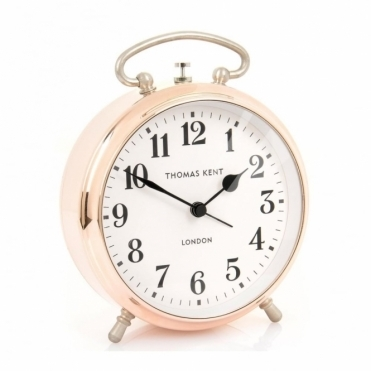 Puffin Rose Gold Alarm Clock