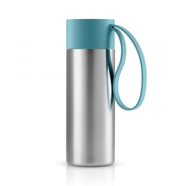 To Go Cup 0.35 Litre Drinking Flask Stainless Steel - Arctic Blue