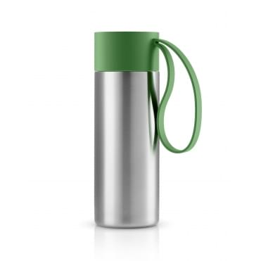 To Go Cup 0.35 Litre Drinking Flask Stainless Steel - Botanic Green