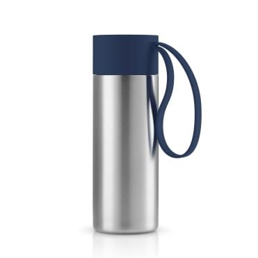 To Go Cup 0.35 Litre Drinking Flask Stainless Steel - Navy Blue
