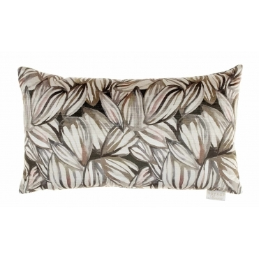 Topia Velvet Rectangular Cushion - Bamboo