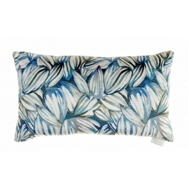 Topia Velvet Rectangular Cushion - Cobalt