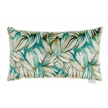 Topia Velvet Rectangular Cushion - Emerald