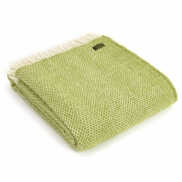 Pure New Wool Knee Lap Blanket - Beehive Kiwi