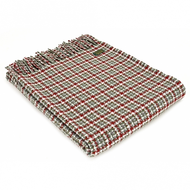 Tweedmill Pure New Wool Throw Blanket - Festival Christmas