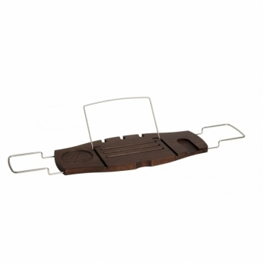 Aquala Bathtub Caddy Rack - Walnut