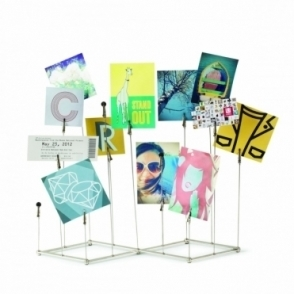Crowd Multi Photo Display Stand - Nickel