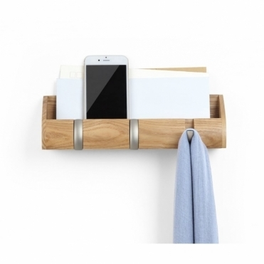 Cubby Mini Organiser & Hooks - Natural