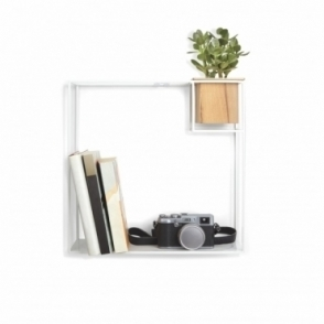 Cubist Shelf White - Large