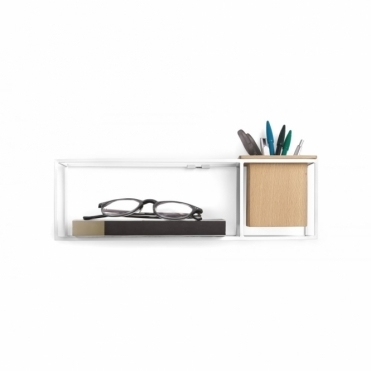 Cubist Shelf White - Small