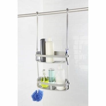 Flex Shower Caddy Grey