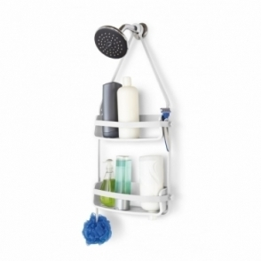 Flex Shower Caddy - White