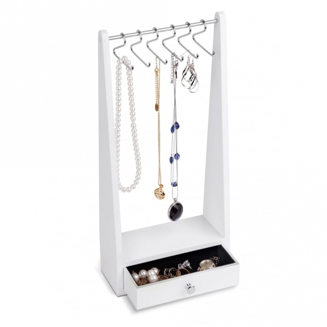 Umbra Jewel Rack Jewellery Stand - White