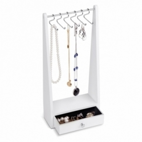 Jewel Rack Jewellery Stand - White