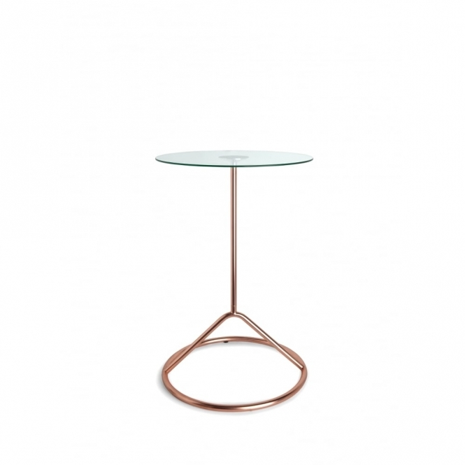 Umbra Loop Side Table - Copper
