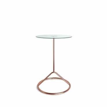 Loop Side Table - Copper