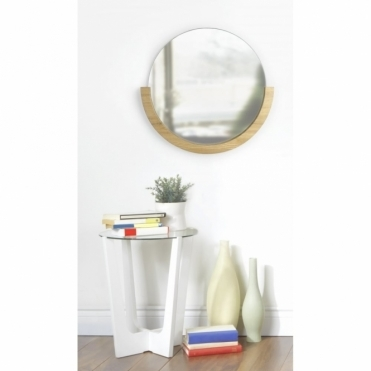 Mira Wall Mirror - Wood