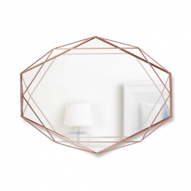 Umbra Prisma Wall Mirror - Copper
