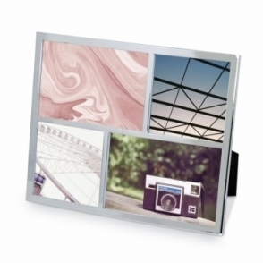 Senza Multi Photo Display Frame - Chrome