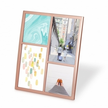 Senza Multi Photo Display Frame - Copper
