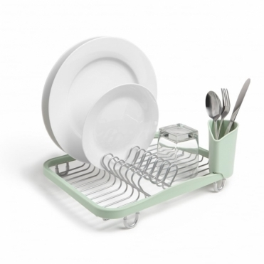 Sinkin Dish Rack Mint / Nickel