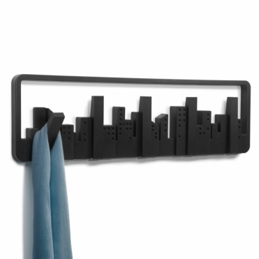 Skyline Multi Coat Hook Black