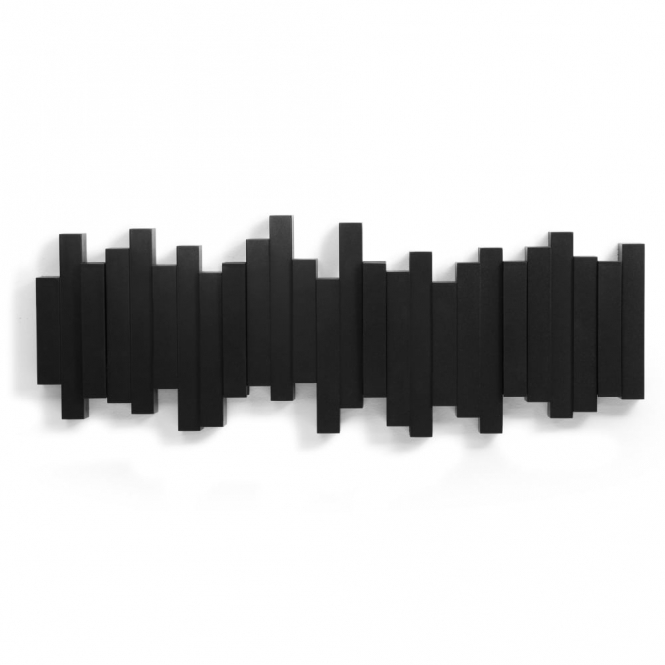 Sticks Multi Coat Hook - Black
