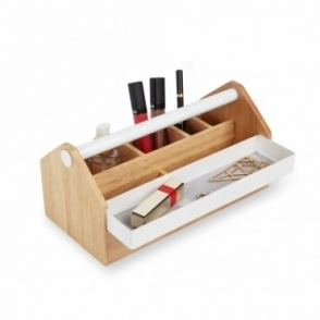 Toto Storage Box Medium - White / Natural