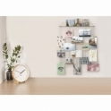 Umbra Trickle Multi Photo Wall Display - Chrome