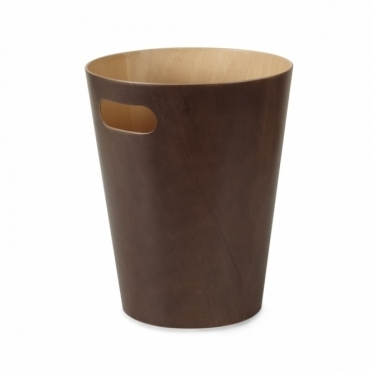 Woodrow Can Espresso Waste Paper Bin
