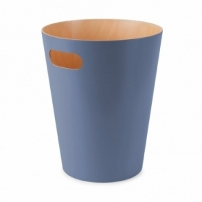 Woodrow Can Mist Blue Waste Paper Bin
