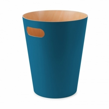 Woodrow Can Waste Paper Bin - Teal