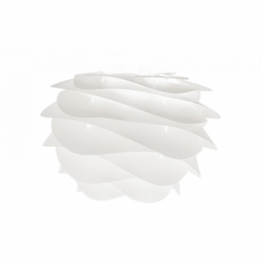 Carmina Mini White Ceiling Pendant / Table Lamp Light Shade